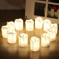 AU_ BL_ 5Pcs Romantic Flameless Simulation LED Light Up Candle Lamp Party Table