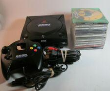 Sega Dreamcast Sports Edition Black Console 13 Game Bundle New Clock Battery