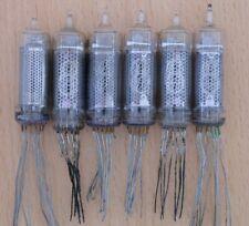 IN-16 X6 NIXIE CLOCK TUBES TESTED 100% VINTAGE INDICATORS USSR SOVIET