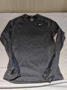 Nike Zonal Cooling Relay Men's running shirt - Dark Grey/Medium