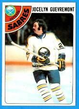 1978-79 Topps #94 JOCELYN GUEVREMONT (ex+) Buffalo Sabres
