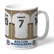 Personalised Bolton Wanderers FC Dressing Room Mug