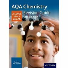 AQA A Level Chemistry Year 1 Revision Guide, Paperback; Poole, Emma, Science