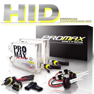HID 1995-2004 GMC Sonoma Headlight Fog Light Conversion Kit 9006 9005 880 6000K