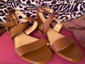 michael kors women sandals size 10