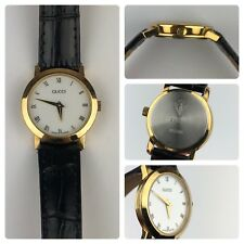 Gucci 2200L Gold Tone Ladies Watch Swiss Made Tested and Working