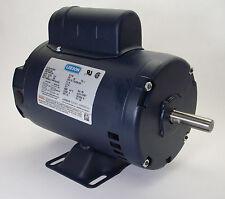 2 HP 3450 RPM 56 Frame Compressor Motor 115/230V Leeson #110232 *FREE SHIPPING*