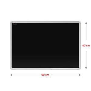 Kreidetafel Magnetisch Magnettafel Blackboard Schwarz Kreide Wandtafel Alurahmen