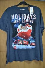 BNWT Coca Cola Christmas Truck T Shirt Holidays Are Coming 3XL XXXL 127-132