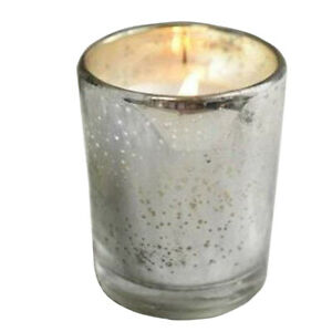 Way Out Wax Organic Holiday Glass Votive Solstice Peppermint
