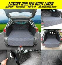 Heavy Duty Luxury Quilted Waterproof Car Boot Trunk Liner Mat for MINI COOPER S