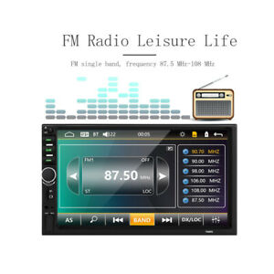 """7"""" 2 Din Car Stereo Radio Car MP5 Player Touch Bluetooth With Reversing"""