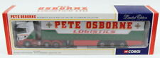 Corgi 1/50 Scale Model CC12207 - Scania Curtainside - Pete Osborne Logistics