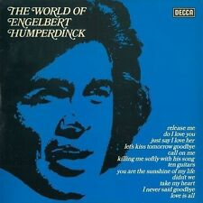 ENGELBERT HUMPERDINCK The World Of Engelbert Humperdinck LP Decca SPA 455 EX