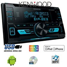KENWOOD DPX-3000U - 2 DIN USB CD MP3 radio de voiture ANDROID APPLE véhicule 12V