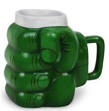 Incredible Dont Make Me Angry Mug Green Fist XL Coffee Tea Mug Novelty Gift