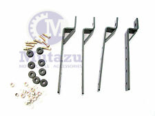 Mutazu Universal heavy duty mounting brackets for Hard saddlebags saddle bags