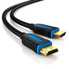 deleyCON 3m Gaming HDMI Kabel für Playstation 4 - PS4 Pro / PS3 - 4K 3D 1080p