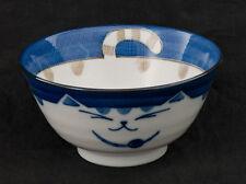 Bol Chat Japonais Maneki Neko 13.3 Cm En Porcelaine Du Japon Made In Japan   397