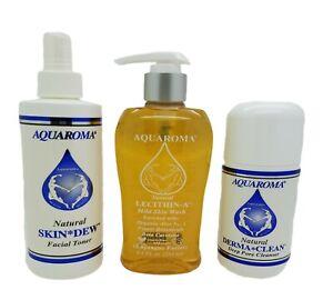 Set Phyto-Hydrofacial: Skin Wash Deep Pore Cleanser Facial Toner Aquaroma