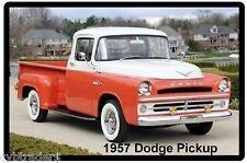 1957 Dodge Pickup Truck Refrigerator Magnet