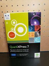 QuarkXPress 7 Upgrade Mac/Win Quark XPress