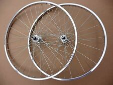 "WHEELS 26x1 3/8"" Single speed Rear Front Wheelset Vintage Town Bicycle Bike"