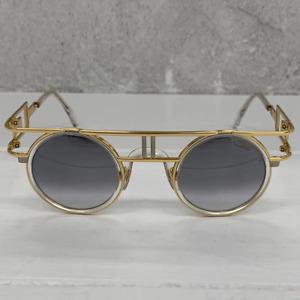 Sunglasses Cazal Legends 668/3 065 Crystal Bicolour Silver Mirror 43 27 140 100%