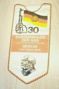 NVA Wimpel Ehrenparade 30. Jahrestag DDR 07.10. 1979 Berlin