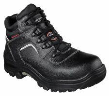 Skechers Work Relaxed Fit Burgin Sosder Composite Toe Boots in Black 77144 BLK