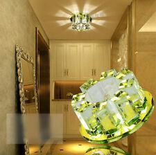 NEW! 5W LED Ceiling Light Pendant Lamp Spot down light Crystal Chandeliers