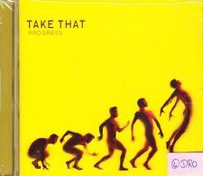 Take That + PROGRESS + CD + 10 pezzi forti + Nuovo +