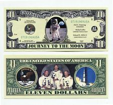 Space Shuttle   Apollo Eleven DOLLAR  BILL