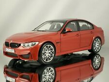 Norev BMW M3 (F80) 3 Series Competition Package 2016 Sakhir Orange Model 1:18