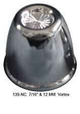 """CR PL 7/16"""" & 12 mm Vortex Frame Bolt Lug Nut Cover (Pack of 20)"""