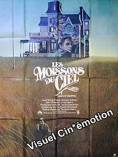 Affiche Pliée 120x160cm LES MOISSONS DU CIEL 1978 Terrence Malick - Gere TBE