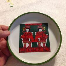 """Vintage Royal Crown ZODIAC by ELENA  GEMINI Dish 5 1/2"""" x 1"""""""