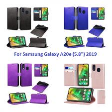 """Samsung Galaxy A20e (5.8"""") 2019 Teléfono Móvil Bolsa De Cuero Billetera Abatible Estuche Libro"""