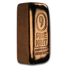 9Fine USA Kupferbarren 10 oz per Hand gegossen gegossener Barren Feinkupfer