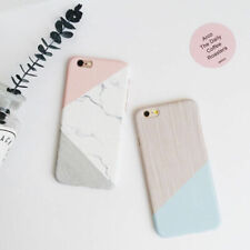 Case For Samsung J6+ S8+ A7 S7 Shockproof Marble Simple PC Hard Back Phone Cover