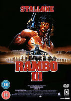 Rambo III DVD (2008) Sylvester Stallone, McDonald (DIR) cert 18 Amazing Value