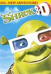 Shrek 3-D (Dvd) - New Sealed with 4 pairs of 3D glasses
