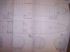 R class zeppelin airship model plan