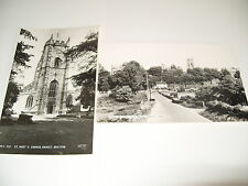 TWO ASSORTED  POSTCARDS OF  MARKET DRAYTON