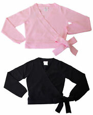 New Adult Womens Basic Moves Cotton Blend Warm-up Dance Sweater in Black or Pink