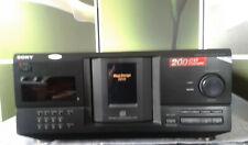 Sony CDP-CX230 -  200er CD-Wechsler, guter Zustand, mit FB + Bedienungsanleitung