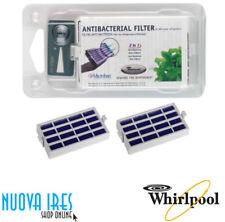 2 X FILTRO ARIA ANTIBATTERICO IKEA MICROBAN WHIRLPOOL 481248048172 ORIGINALE