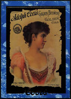 1890's Calendar Cover #2 Coors Beer Trade Card (C389)
