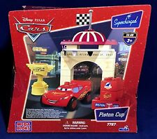 New - PISTON CUP - Mega Bloks 7767 - PIXAR CARS Lightning McQueen SUPERCHARGED