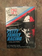 Pro Set Official Petty Family Racing Box Set 50 cards- New, Sealed